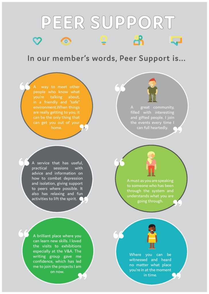 What is Peer Support Poster