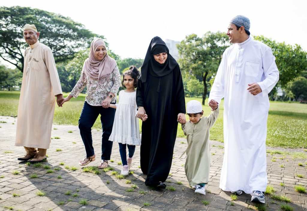 Family bridging the gap between generations