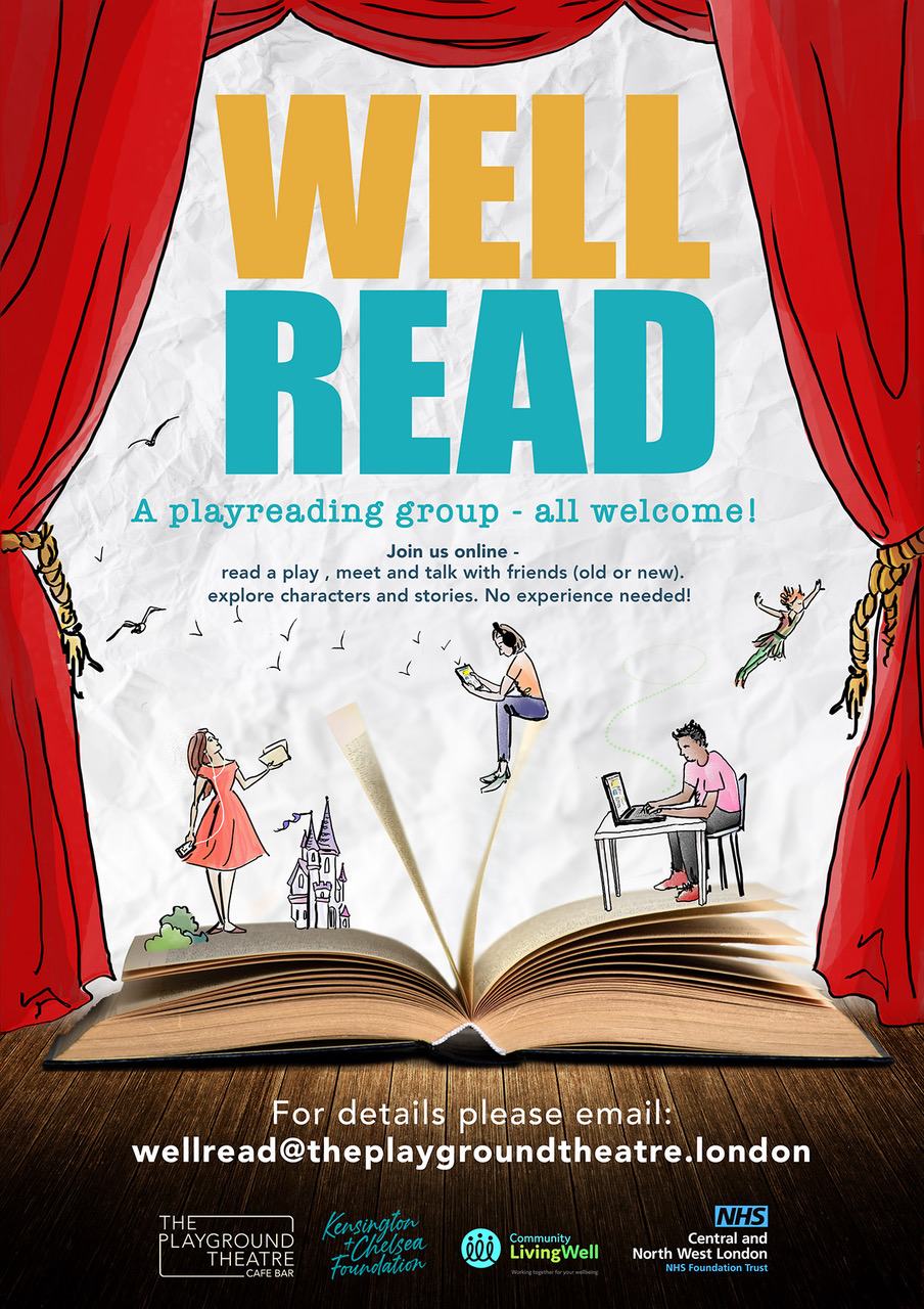 Well Read Play Reading Poster