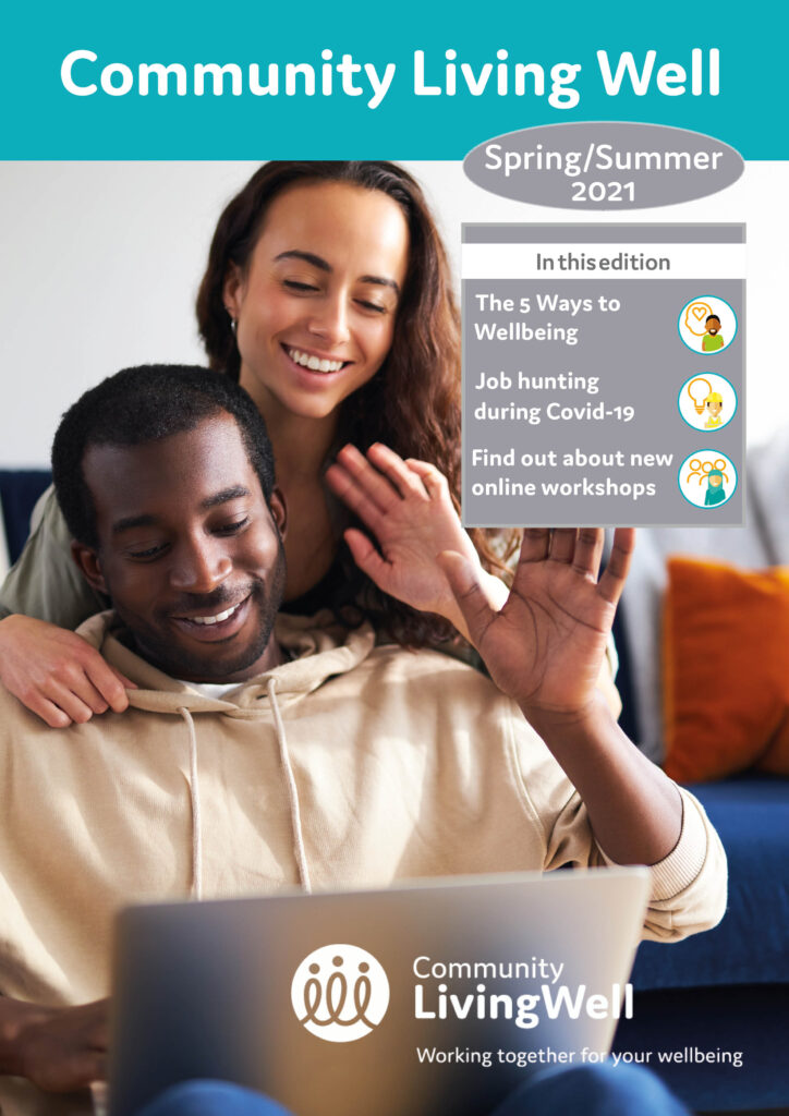 Community Living Well magazine Spring 2021 cover image