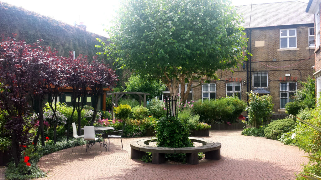 The Clement James Centre gardens